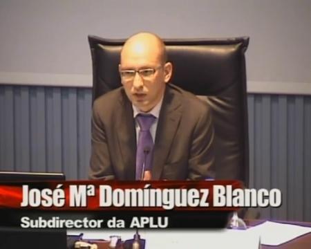 José María Domínguez Blanco, Subdirector da APLU.